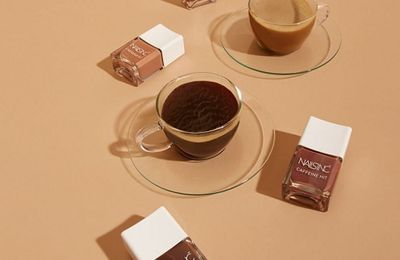 La collection The Caffeine Hit de Nails Inc