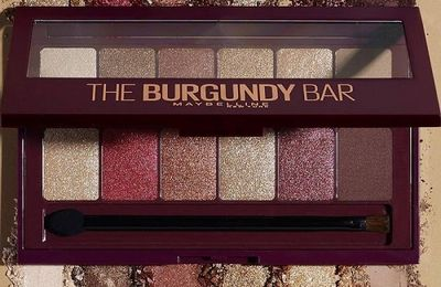 The Burgundy Bar, la nouvelle palette de Maybelline
