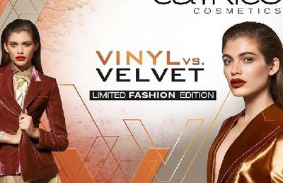 Catrice Limited Edition : Vinyl vs Velvet
