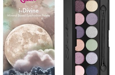 Dream a Little Dream, la nouvelle palette de Sleek MakeUp