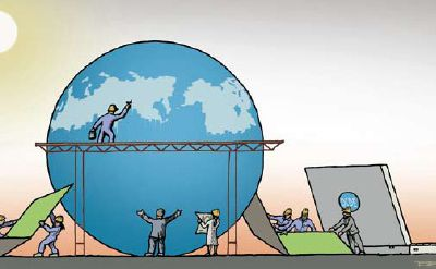 """Pistes de correction pour la composition d'histoire du bac blanc du 16 février """"La gouvernance économique mondiale depuis 1944"""""""