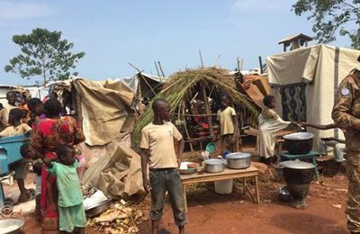 "Violences en Centrafrique : situation humanitaire alarmante, ""On dort dans la boue"""