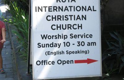 La messe en anglais, c'est le dimanche à Kuta