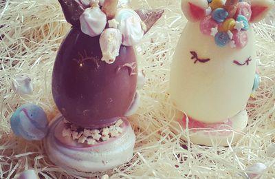 Licornes en chocolat / Schokoladeneinhörner