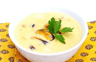 Soupe de Moules au Maroilles