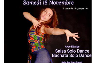 Workshops spécial danses latine !!