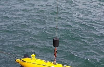 Thales successfully completes demonstration of its exhaustive Mine-Hunting Unmanned Package in Belgium