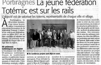 """La fédération """"Totémic"""" à Portiragnes"""