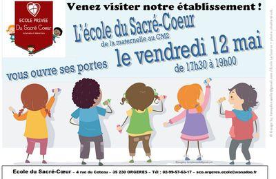 Inscriptions et soirée « portes ouvertes » pour la rentrée 2017 à l'école du Sacré-Cœur
