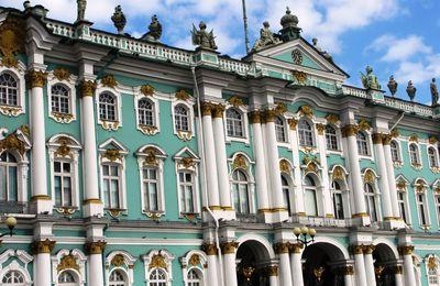 Saint-Pétersbourg août 2017 : Musée de l'Ermitage