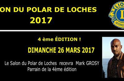Dimanche 26 mars, 4e salon du polar de Loches