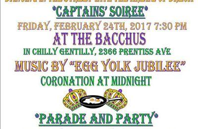 KREWE OF DREUX- Mardi Gras avenue de Dreux quartier Gentilly à la Nouvelle Orléans (USA)