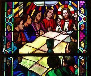Sur la route à Brocéliande. L'Eglise du Graal de Tréhorenteuc. -2-