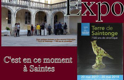 19  - Conférence Presse Saison Estivale Saintes. France Colombie et Musique avec Neira à Saintes. Expo Céramiques Saintes depuis 7500 ans. DIEU que fait-il...?