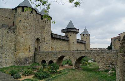 Carte postale estivale : Carcassonne