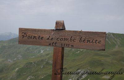 Pointe de Combe Bénite 2575m (19/07/2017)