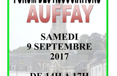 a faire savoir / forum des associations 2017