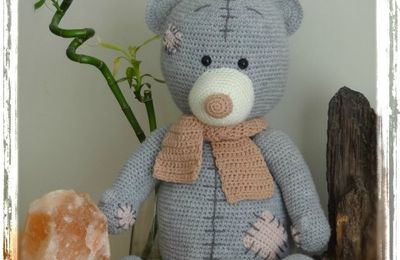 """""""From Me to You"""" teddy bear - LLouise Kristensen"""