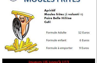 Moules-frites avec l'ESM...