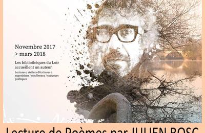Résidence poétique du Loir : Julien Bosc au château de Vaux à Chaumont