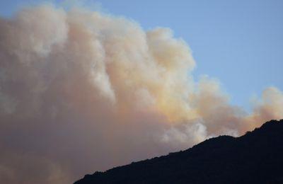 incendie à Rosis: et ça continue, encore et encore !