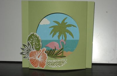 "CARTE ""DIORAMA TROPICAL"""