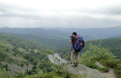 3/4 Les Hautes Chaumes - Gazon du Faing - Gazon de Faîte - Dreieck - Le Tanet - Col de la Schlucht - Sentier des roches - Les trois fours