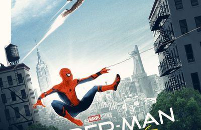Iron Man sur l'affiche de Spider-Man Housecoming