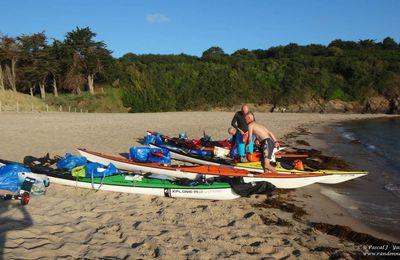 Tour de Bretagne : organisation et chargement du kayak