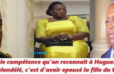La risée Maire de Brazzaville Hugues Ngouélondelé nommé ministre des sports