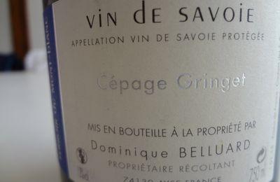 Savoie- AOC Vin de Savoie 2015 - Le feu - Dominique Belluard.