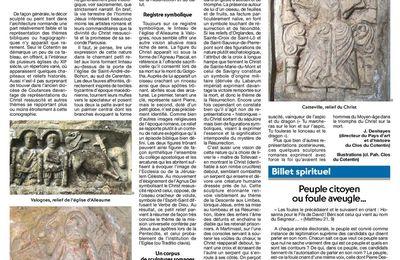Images du Christ ressuscité dans l'art roman du Clos du Cotentin