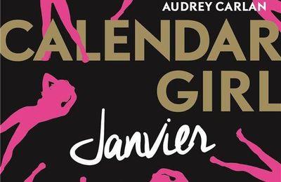 """""""Calendar girl : janvier"""" d'Audrey Carlan"""