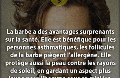 L'HOMME ET LA BARBE   -  ENCORE  TRES TENDANCE - !