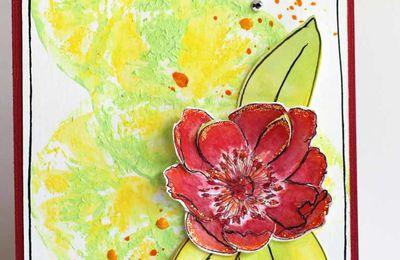 Carte_agrumes et fleur