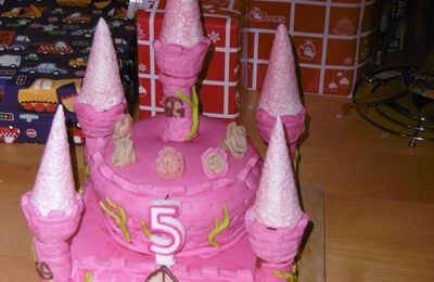 gateau chateau my little pony