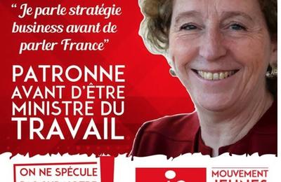 Muriel PÉNICAUD: le patronat s'invite au ministère du Travail