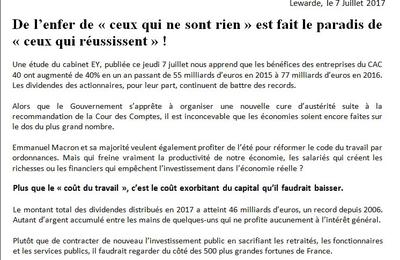 """""""L'enfer de """"ceux qui ne sont rien"""" : le député du Nord Alain Bruneel interpelle le gouvernement"""