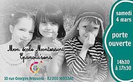 Porte Ouverte 2017 Ecole Montessori de Moissac