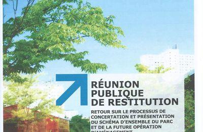 Réunion de restitution sur Chapelle Charbon