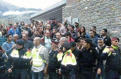 Catalogne Occitanie, l'État espagnol réprime les peuples
