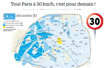 Tout Paris à 30 km/h ?