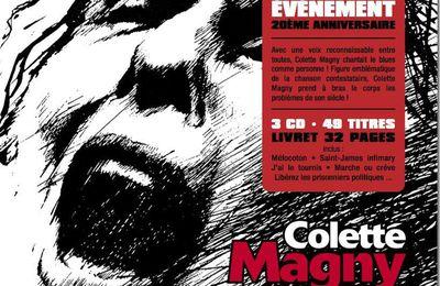 Un cri de colère le 3 novembre ... l'immense Colette Magny !