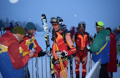 Le Grand Béal - Championnat de France par équipe de ski-alpinisme 2017.