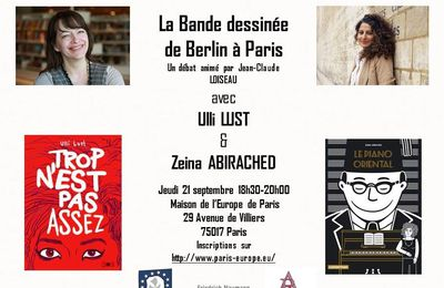 Rencontre Ulli Lust / Zeina Abirached à Paris