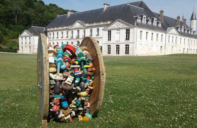 [touret'cupérer]-c'est ma nature @ Pascal Levaillant  2016-2017 - Récup'Art du 1er juillet au 31 août dans le parc de l'Abbaye du Valasse - Gruchet-le-Valasse