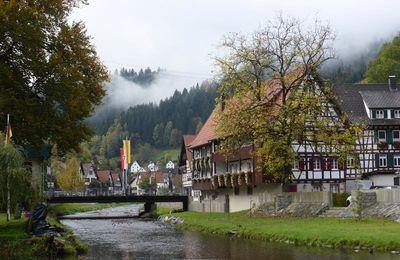 Retour en Forêt Noire : Schiltach..