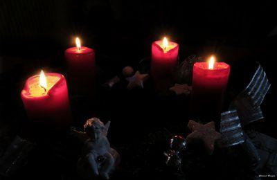 Quatre bougies de l'Avent