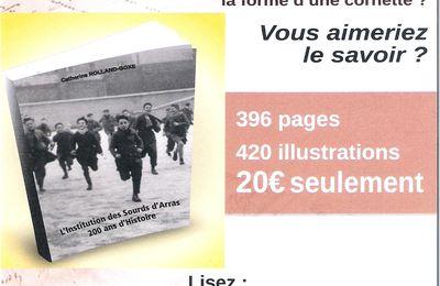Sortie d'un livre retraçant l'histoire de l'Institution des Sourds d'Arras