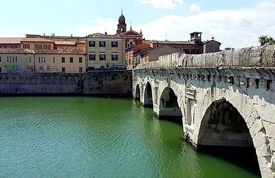 Balade dans Rimini, entre histoire et farniente